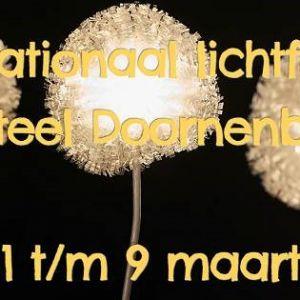 Internationaal Lichtfestival Kasteel Doornenburg