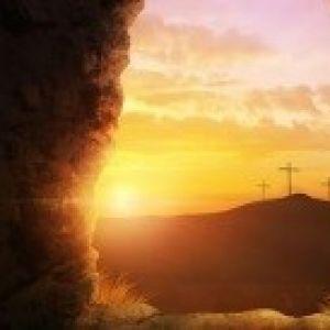 De paasviering in samenwerking met de kerk