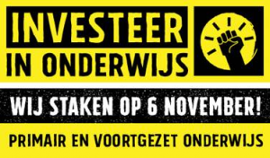 Staking woensdag 6 november
