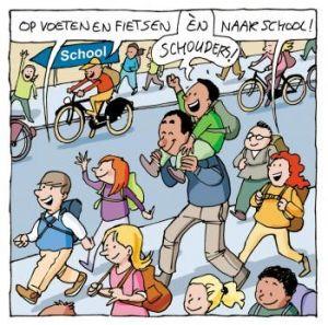 Verkeerssituatie rondom school